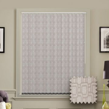 Made to Measure Cavali Nacar Ivory Vertical Blind